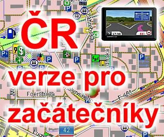 Volne Stazitelne Mapy Cr A Sr Pro Gps Navigace Garmin